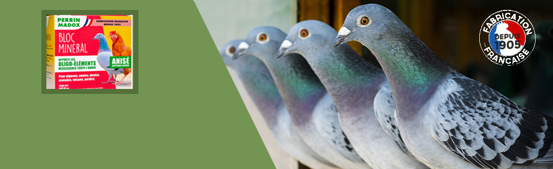 Mineral food for pigeons & poultry